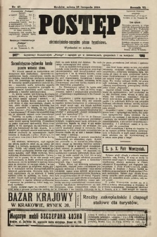 Postęp : chrześcijańsko-socjalne pismo tygodniowe. 1910, nr47