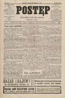 Postęp : chrześcijańsko-socjalne pismo tygodniowe. 1910, nr48