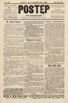 Postęp : pismo chrześcijańsko-socyalne. 1907, nr40