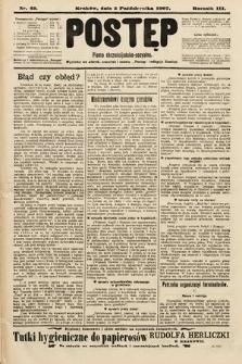 Postęp : pismo chrześcijańsko-socyalne. 1907, nr42