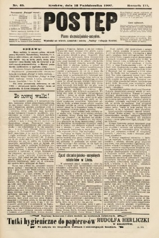 Postęp : pismo chrześcijańsko-socyalne. 1907, nr45