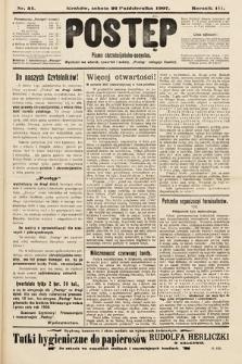 Postęp : pismo chrześcijańsko-socyalne. 1907, nr51
