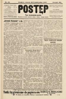 Postęp : pismo chrześcijańsko-socyalne. 1907, nr52