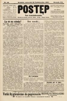 Postęp : pismo chrześcijańsko-socyalne. 1907, nr53