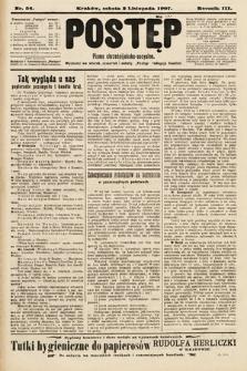 Postęp : pismo chrześcijańsko-socyalne. 1907, nr54