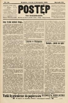 Postęp : pismo chrześcijańsko-socyalne. 1907, nr55