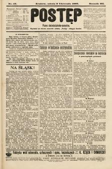 Postęp : pismo chrześcijańsko-socyalne. 1907, nr57