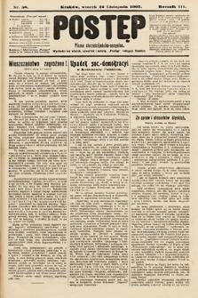 Postęp : pismo chrześcijańsko-socyalne. 1907, nr58