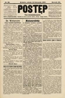 Postęp : pismo chrześcijańsko-socyalne. 1907, nr60