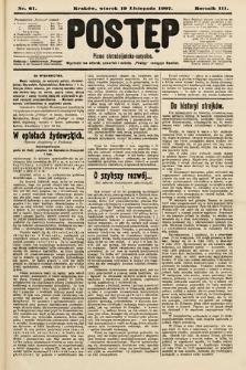 Postęp : pismo chrześcijańsko-socyalne. 1907, nr61