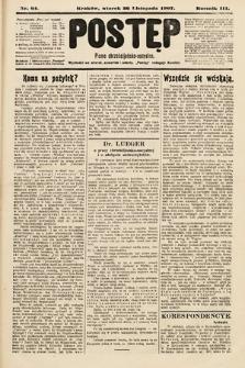 Postęp : pismo chrześcijańsko-socyalne. 1907, nr64