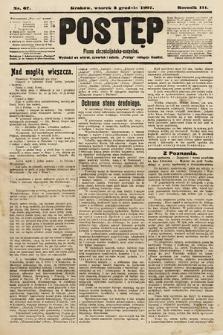 Postęp : pismo chrześcijańsko-socyalne. 1907, nr67
