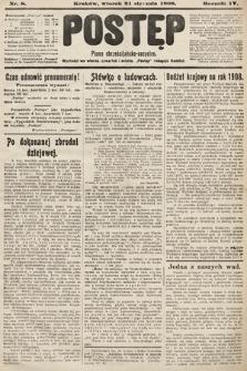Postęp : pismo chrześcijańsko-socyalne. 1908, nr8