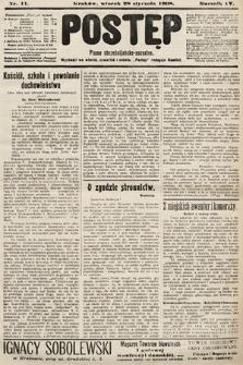 Postęp : pismo chrześcijańsko-socyalne. 1908, nr11
