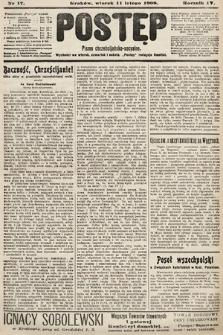 Postęp : pismo chrześcijańsko-socyalne. 1908, nr17