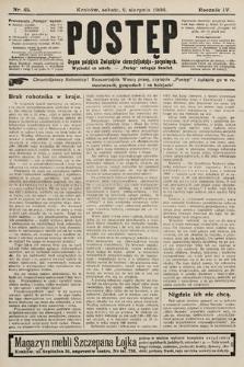 Postęp : organ polskich związków chrześcijańsko-socyalnych. 1908, nr45