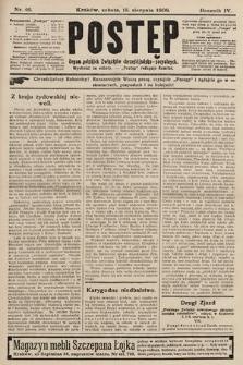 Postęp : organ polskich związków chrześcijańsko-socyalnych. 1908, nr46