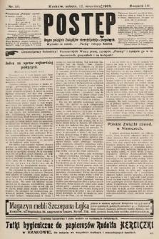 Postęp : organ polskich związków chrześcijańsko-socyalnych. 1908, nr50