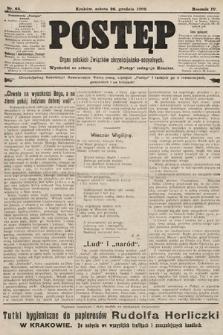 Postęp : organ polskich związków chrześcijańsko-socyalnych. 1908, nr65