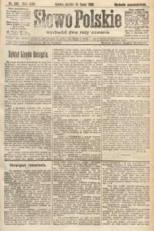 Słowo Polskie. 1920, nr326