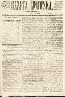Gazeta Lwowska. 1870, nr 287