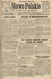 Słowo Polskie. 1920, nr365