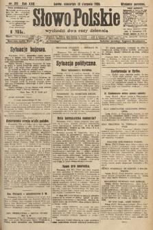 Słowo Polskie. 1920, nr371