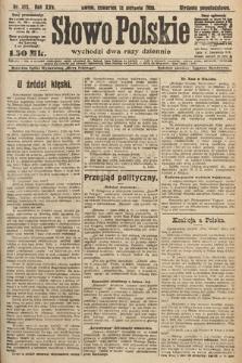 Słowo Polskie. 1920, nr372