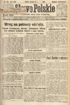 Słowo Polskie. 1920, nr392