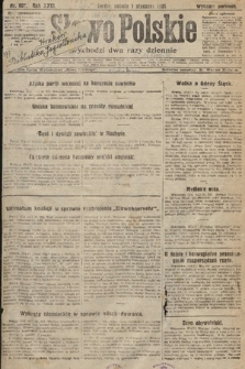 Słowo Polskie. 1920, nr607