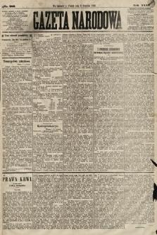 Gazeta Narodowa. 1892, nr289