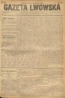 Gazeta Lwowska. 1877, nr37