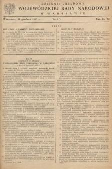 Dziennik Urzędowy Wojewódzkiej Rady Narodowej w Warszawie. 1955, nr9