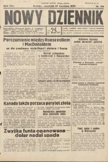 Nowy Dziennik. 1933, nr114