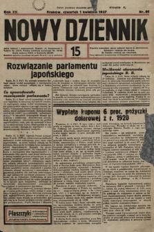 Nowy Dziennik. 1937, nr89
