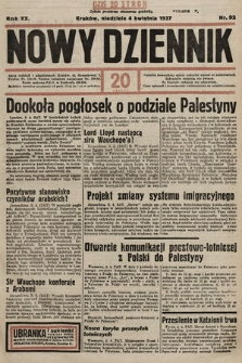 Nowy Dziennik. 1937, nr92
