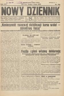Nowy Dziennik. 1933, nr182