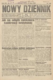 Nowy Dziennik. 1933, nr206