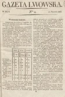 Gazeta Lwowska. 1823, nr4
