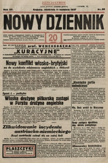 Nowy Dziennik. 1937, nr99