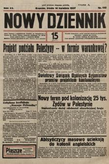 Nowy Dziennik. 1937, nr102
