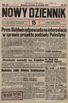 Nowy Dziennik. 1937, nr103