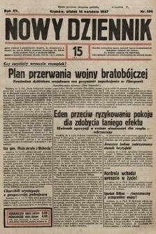 Nowy Dziennik. 1937, nr104