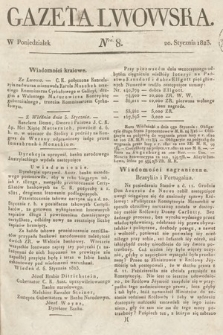 Gazeta Lwowska. 1823, nr8