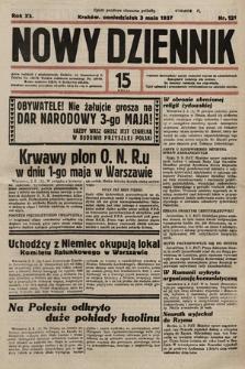 Nowy Dziennik. 1937, nr121