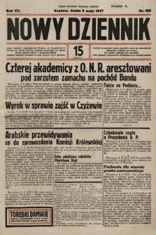 Nowy Dziennik. 1937, nr123