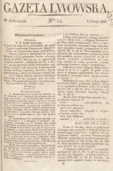 Gazeta Lwowska. 1823, nr14