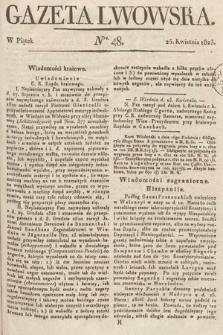 Gazeta Lwowska. 1823, nr48