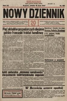 Nowy Dziennik. 1937, nr133