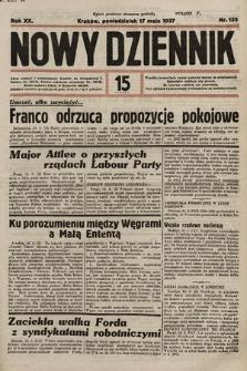Nowy Dziennik. 1937, nr135